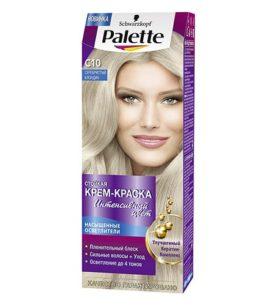 Краска для волос Palette С10 Серебристый блондин 110 мл оптом