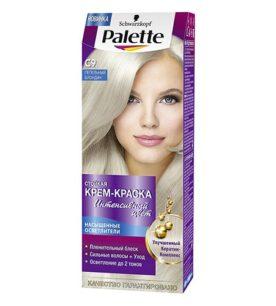 Краска для волос Palette С9 Пепельный блондин 110 мл оптом