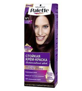 Краска для волос Palette V1 Сливовый черный 50 мл оптом