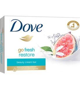 Крем-мыло Dove Инжир и лепестки апельсина 135 г оптом
