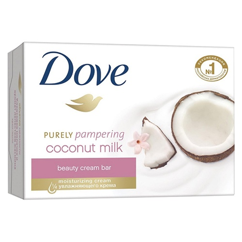 Крем-мыло Dove Кокосовое молочко и лепестки жасмина 135 г оптом