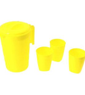 Кувшин для воды Фазенда 2 л и стаканы