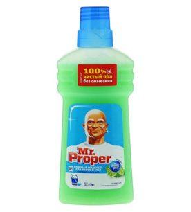 Моющее средство Mr.Proper Бодрящий лайм и мята 500 мл оптом