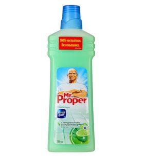 Моющее средство Mr.Proper Бодрящий лайм и мята 750 мл оптом