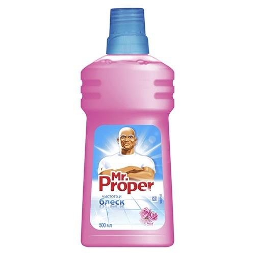Моющее средство Mr.Proper Роза 500 мл оптом