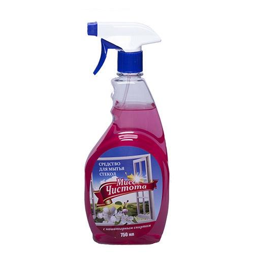 Моющее средство для стекол Мисс Чистота Цветы весны 750 мл оптом
