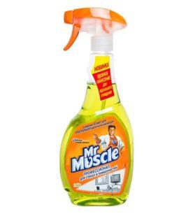 Моющее средство для стекол Mr. Muscle Лайм 500 мл оптом