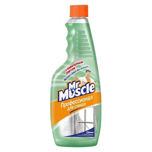 Моющее средство для стекол (сменный блок) Mr. Muscle С нашатырным спиртом