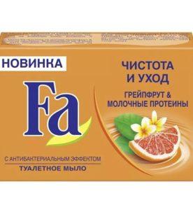 Мыло Fa Грейпфрут & Молочные протеины 90 г оптом