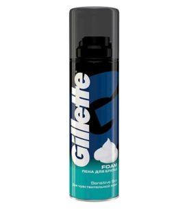 Пена для бритья Gillette Для чувствительной кожи 200 мл оптом