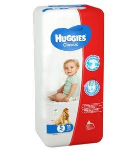 Подгузники Huggies Classic Small Pack 11-25 кг (5 размер) 11 шт оптом