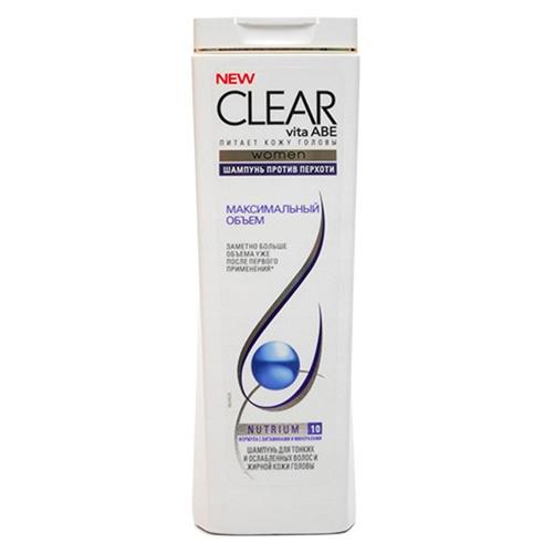 Шампунь Clear Максимальный объем 400 мл оптом