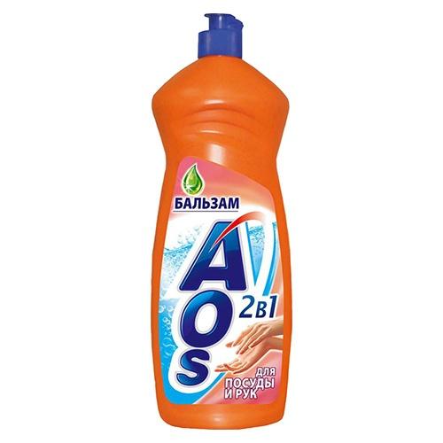 Средство для мытья посуды AOS Бальзам 1 л оптом