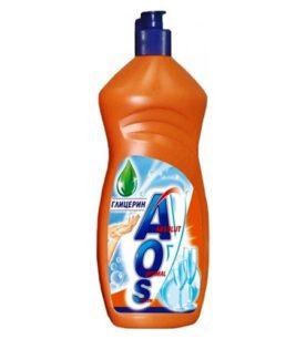 Средство для мытья посуды AOS Глицерин 1 л оптом