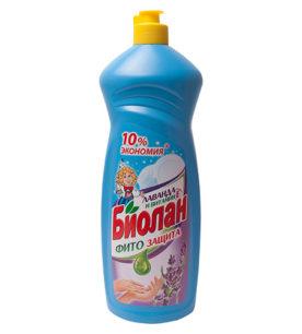 Средство для мытья посуды Биолан Лаванда и витамин Е