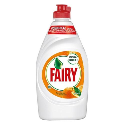 """Средство для мытья посуды Fairy """"Апельсин и лимонник"""", 450 мл"""