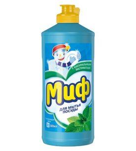 Средство для мытья посуды Миф Освежающая мята 500 мл оптом