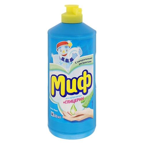 Средство для мытья посуды Миф Свежесть долины роз 500 мл оптом