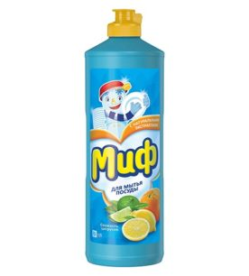 Средство для мытья посуды Миф Свежесть цитрусов 1 л оптом