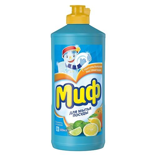 Средство для мытья посуды Миф Свежесть цитрусов 500 мл оптом