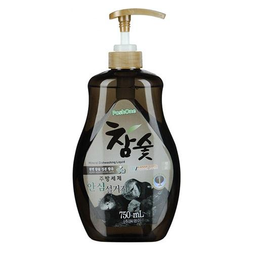 Средство для мытья посуды Posh One С экстрактом древесного угля  750 мл оптом