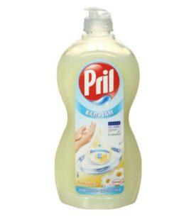 Средство для мытья посуды Pril С витамином Е