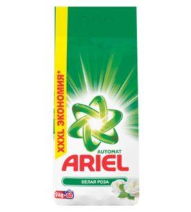 Стиральный порошок Ariel Белая роза 9 кг оптом