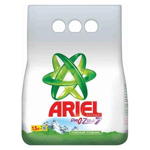 Стиральный порошок Ariel Горный родник 1