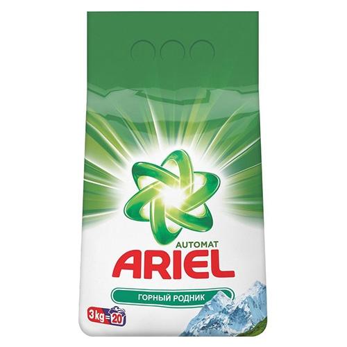 Стиральный порошок Ariel Горный родник 3 кг оптом