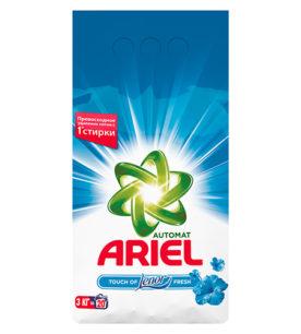 Стиральный порошок Ariel Lenor эффект 2в1 3 кг оптом