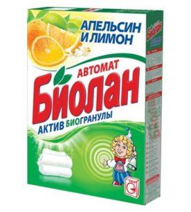 Стиральный порошок Биолан Апельсин и лимон 350 г оптом