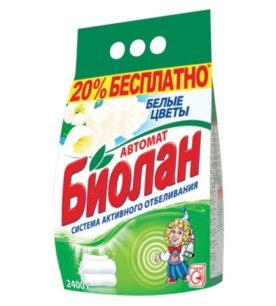 Стиральный порошок Биолан Белые цветы 2