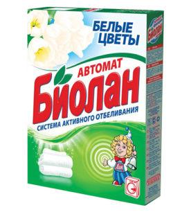 Стиральный порошок Биолан Белые цветы 350 г оптом