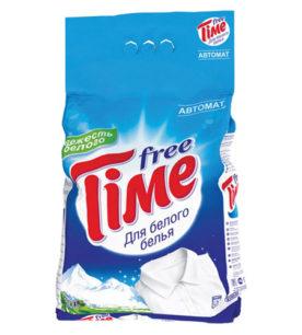 Стиральный порошок Free Time 3 в 1