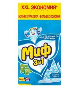 Стиральный порошок Миф Морозная свежесть 6 кг оптом