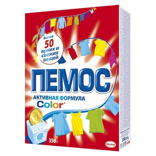 Стиральный порошок Пемос Color 350 г оптом