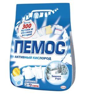 Стиральный порошок Пемос Зимнее утро 2 кг оптом