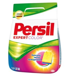 Стиральный порошок Persil Color expert  1