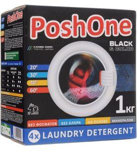 Стиральный порошок Posh One Black & Color 1 кг оптом