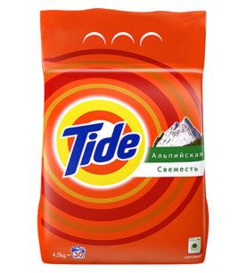 Стиральный порошок Tide Альпийская свежесть 4