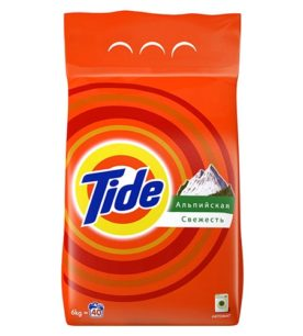 Стиральный порошок Tide Альпийская свежесть 6 кг оптом
