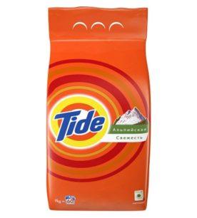 Стиральный порошок Tide Альпийская свежесть 9 кг оптом