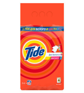 Стиральный порошок Tide Для белого и цветного 3 кг оптом