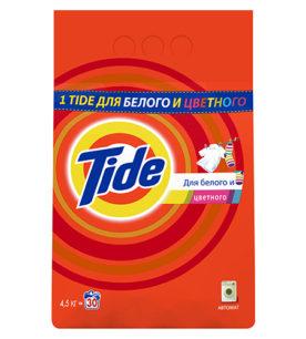 Стиральный порошок Tide Для белого и цветного 4