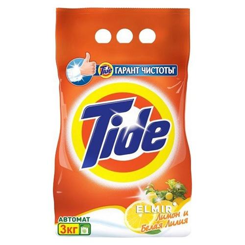 Стиральный порошок Tide Лимон и белая лилия 3 кг оптом