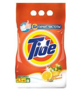 Стиральный порошок Tide Лимон и белая лилия 4