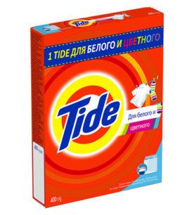 Стиральный порошок для ручной стирки Tide Для белого и цветного 400 г оптом