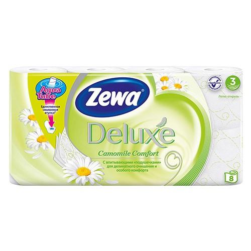 Туалетная бумага Zewa Deluxe