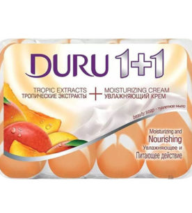 Туалетное мыло Duru Тропические экстракты+увлажняющий крем