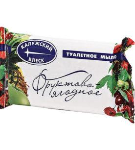 Туалетное мыло Калужский блеск Фруктово-ягодное 90 г оптом